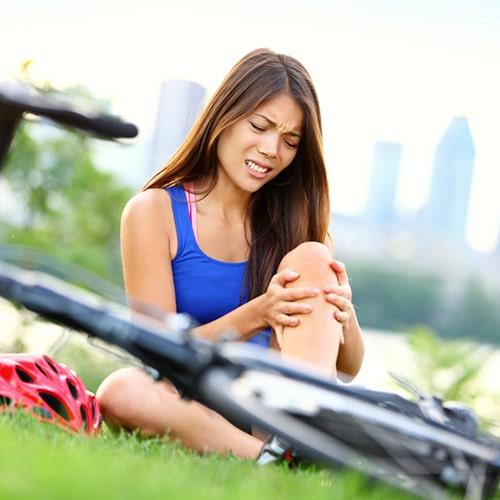Pain Management Plantation FL Knee Injury While Bicycling